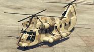 Cargobob con puertas cerradas-GTAO