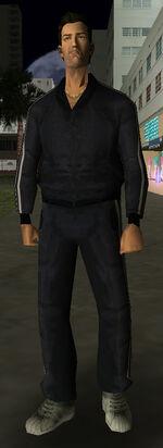 VCtracksuit black