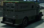 Securicar detrás GTA IV