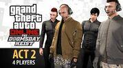 GTA Online- Doomsday Heist Act -2 with 4 Players (Elite & Criminal Mastermind IV)