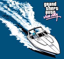 Squalo artwork - Grand Theft Auto Vice City