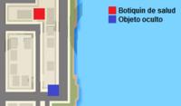 Mapa Fort Staunton Advance
