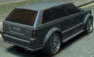 Huntley Sport detrás GTA IV