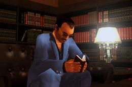 Diego leyendo