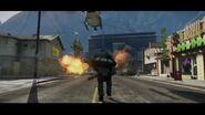Minigun GTA V trailer 2