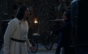 Karkarov discutiendo con Snape
