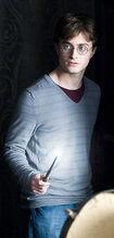 P7 Harry Potter varita en mano