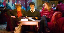P5 El trío estudiando