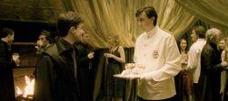 P6 Neville waiter at the Slug Club Party