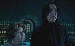 Umbridge y Snape