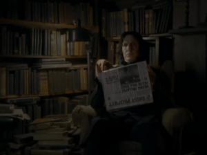 Snape en su casa