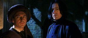 P1 Snape y quirrell