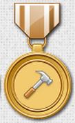 Médaille travaillez 30j d'affilé