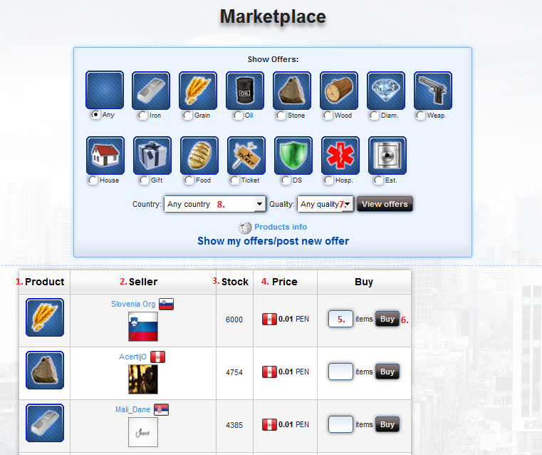 MarketPlace - expanded - How to
