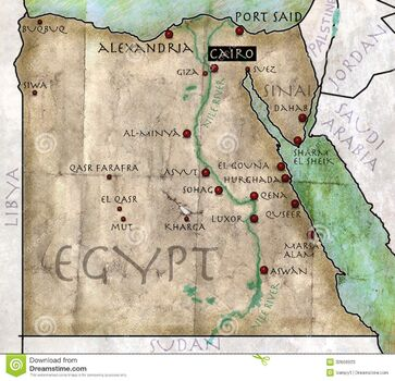 Map-egypt-antique-effect-parchment-32668923
