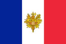 Flag Kingdom French Republic