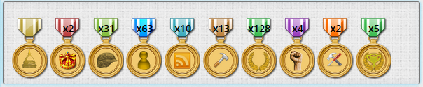 Freedom medals