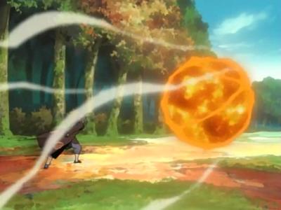 Elemento Fuego Jutsu Gran Bola de Fuego
