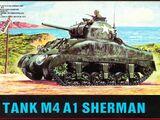 ESCI 1/72 8028 M4A1 Sherman