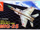 Hobbycraft 1/144 HC1111 Mikoyan MiG-25 Foxbat