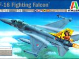 Italeri 1/72 1271 F-16 Fighting Falcon