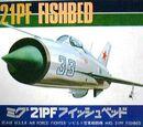 Crown 1/144 Mikoyan-Gurevich MiG-21