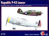 Pavla 1/72 72061 Republic P-43 Lancer