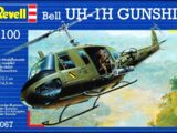 Revell/Germany 1/100 04067 Bell UH-1H Gunship