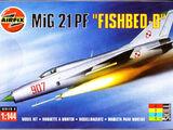 "Airfix 1/144 00101 MiG 21PF ""Fishbed-D"""