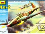 Zvezda 1/72 7279 Il-2 Stormovik