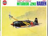Marusan 1/100 027 Mitsubishi J2M3 Raiden