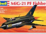 Revell/Germany 1/144 4049 MiG-21PF Fishbed