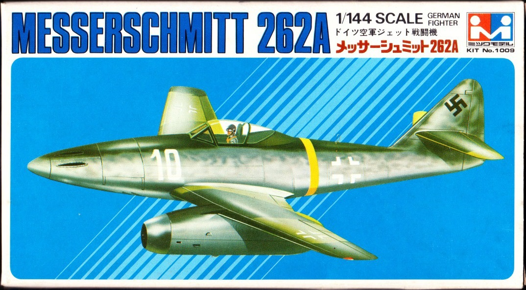 Fujimi 144221 Messerschmitt Me 262A 1:144 Modell