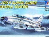 Italeri 1/72 003 F-100F Super Sabre Double Seater