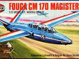 Airfix 1/72 02047 Fouga CM.170 Magister