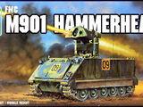 AMT/ERTL 1/72 8636 FMC M901 Hammerhead