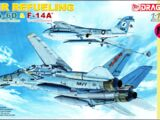 "Dragon Models 1/144 4595 KA-6D & F-14A ""Air Refueling"""