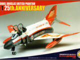 Fujimi 1/72 72167 British Phantom FG.1 25th Anniversary