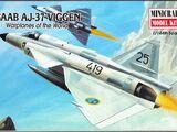 Minicraft 1/144 14418 Saab AJ-37 Viggen
