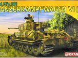 Dragon Models 1/72 7209 Panzerkampfwagen VI (P) Sd.Kfz.181
