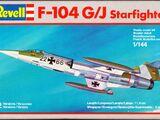 Revell/Germany 1/144 4011 F-104G/J Starfighter