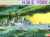 Dragon Models 1/700 7055 HMS York Type 42 Destroyer Batch 3