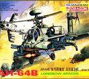 Dragon Models 1/144 4530 AH-64B Longbow Apache
