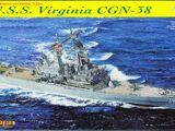 Dragon Models 1/700 7090 U.S.S. Virginia CGN-38