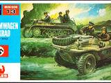 Hales/Hasegawa 1/72 MB-013 Schwimmwagen & Kettenkrad