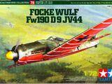 Tamiya 1/72 60778 Focke-Wulf Fw 190 D-9 JV44