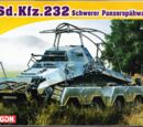 Dragon Models 1/72 7429 Sd.Kfz.232 (8-Rad)