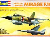 Revell/Germany 1/144 4005 Dassault Breguet Mirage F.1C