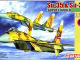 Dragon Models 1/144 4584 Su-35 & Su-37 Super Flanker