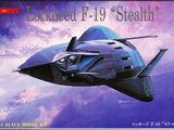 Tsukuda Hobby 1/144 J03 Lockheed F-19 Stealth